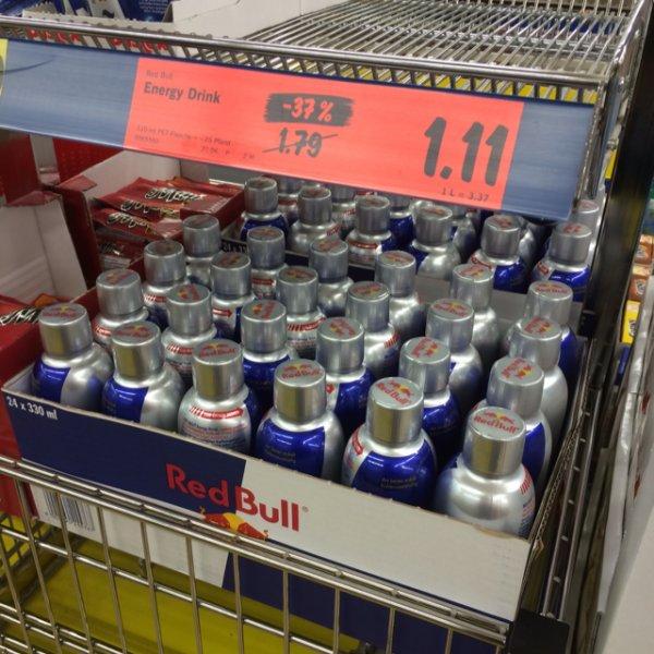 Red Bull 330ml bei Lidl