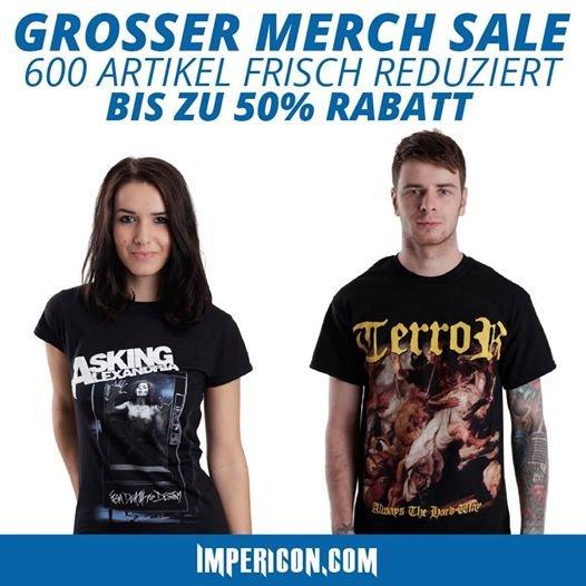 [Impericon] großer Merch und Band Shirt Sale
