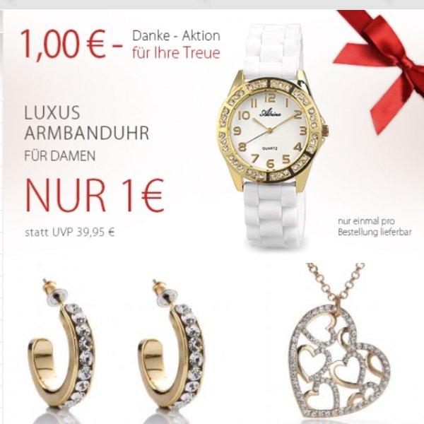 Uhr bei Silvity für 1€