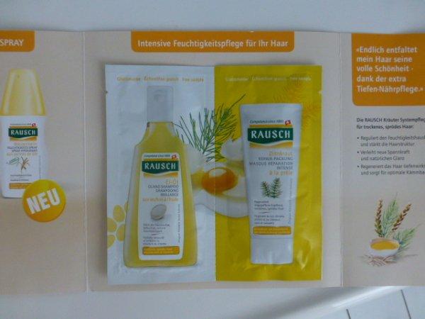 Rausch Shampoo+Spülung Gratis-Probe abholen in der Apotheke