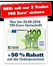 Depot 1822direkt 100€ Aktivierungsprämie nur bis zum 30.6.