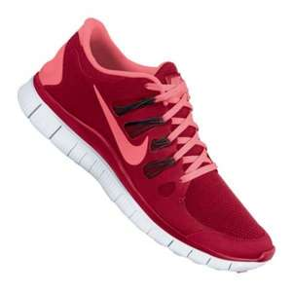 Nike Free 5.0+ Running Rot Schwarz F660 und Neongelb F701