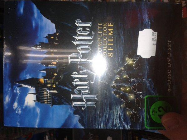 Harry Potter alle 8 DvDs