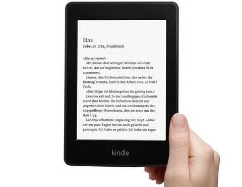 [Amazon] Kindle Paperwhite 2013 (aktuelles Modell) von 129€ auf 109€ gesenkt