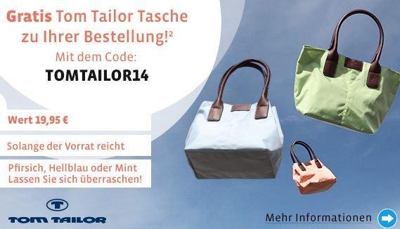 Tom Tailor Tasche gratis bei Mirapodo Bestellung
