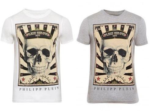 Philipp Plein Herren Designer T-Shirt Gr S M L XL PLEIN CIRCUS kurzarm NEU für 79,95 €