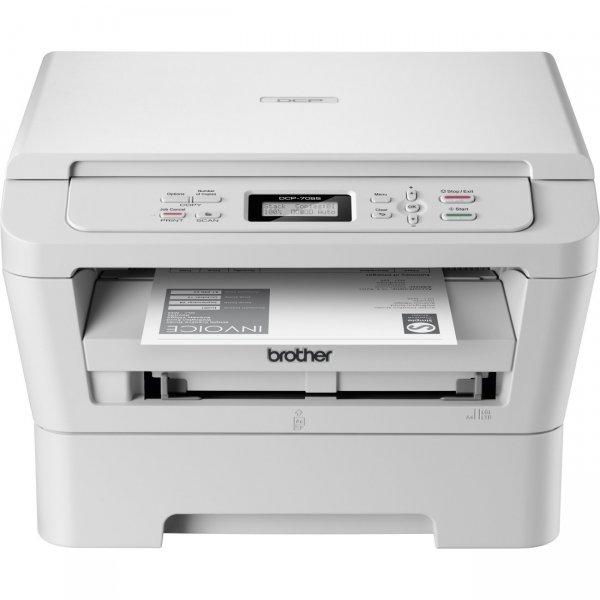 Brother DCP-7055 Monolaser-Multifunktionsgerät 3-in-1 (Drucker, Farbscanner, Kopierer - A4 - 2400x600dpi)
