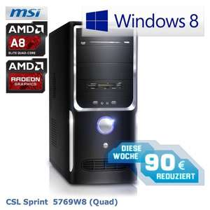 Desktop-PC CSL-Sprint-5769W8 (Quad)