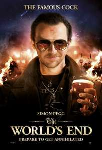 [Amazon Prime] The World's End [Blu-ray] für 9,97€