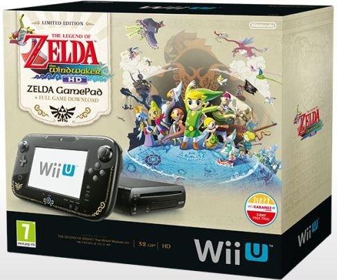 Nintendo Wii U Premium Bundle + The Legend of Zelda: The Wind Waker HD für 269 EUR bei buecher,de