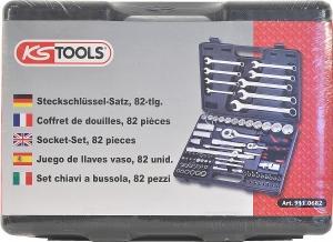 82Tlg. Seckschlüsselsatz von KS-Tools