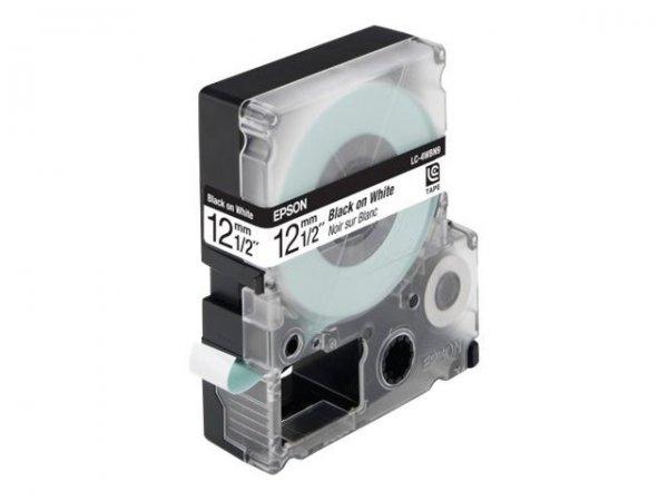 Epson LC4WBN9 Schriftband für Etikettendrucker für 10,33€ VSK-frei