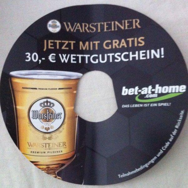 Warsteiner 5l Fass + 30€ bet-at-home Gutschein bei Netto (ohne Hund)