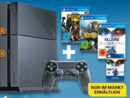 Playstation 4 und Xbox One Bundles @Saturn Flyer