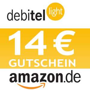 debitel light SIM-Karte + 14,00 EURO AMAZON Gutschein
