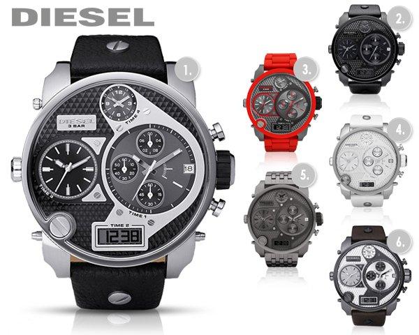 Diesel Mr. Daddy Uhren bei 1dayfly heute im Sale