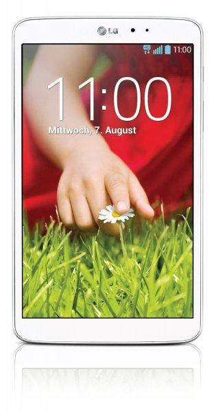"LG G Pad 8.3 21 cm (8,3"") Full-HD IPS16 GB Wifi Tablet weiß inkl. Versand für nur 179 €"