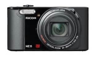 """[Saturn Late Night] Ricoh HZ15 Kompaktkamera 16MP,15fach opt.Zoom,Li-Ionen-Akku,3"""" Display für 49€"""