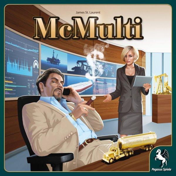 Wirtschaftssimulation/Brettspiel Pegasus McMulti // Idealo 26,90€