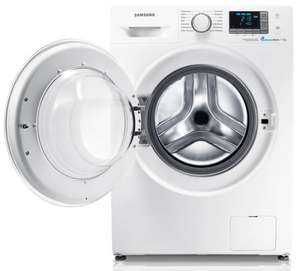 Samsung WF70F5E0R4W Waschmaschine, 7kg, 1400 U/M, A+++ @ MM Köln