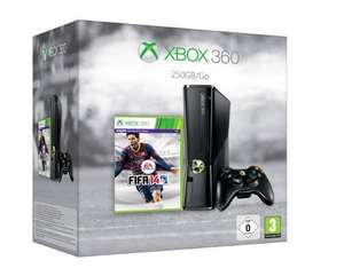 [Amazon WHD wie neu]  Xbox 360 250 GB FIFA 14 Bundle