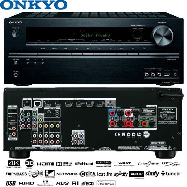 Onkyo TX-NR525 AV-Netzwerk-Receiver @ibood 189€