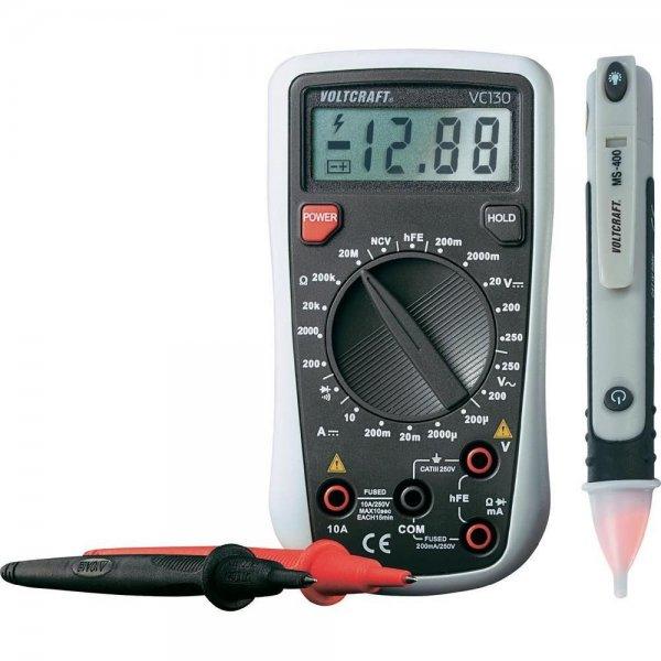 VOLTCRAFT VC130 Digital-Multimeter inkl. berührungsloser Spannungsprüfer im ebay WOW für 20,00€