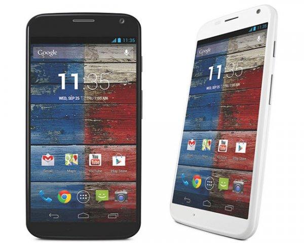 Motorola Moto X Amazon Blitzangebot für 279€ schwarz und weiß