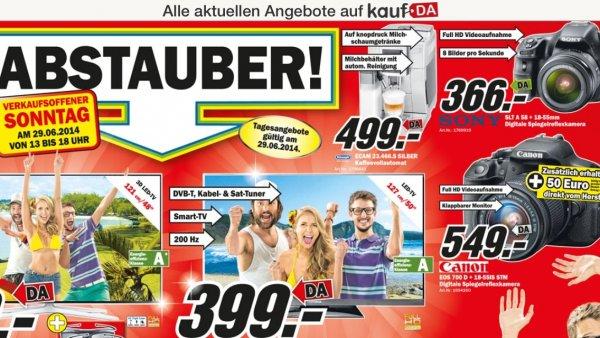Canon EOS 700 D + 18-55 IS STM für 549,- Media Markt Köln Kalk