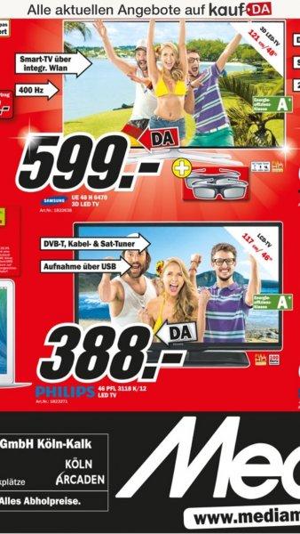 Philips 46 PFL 3118 K/12 für 388,- im Media Markt Köln Kalk