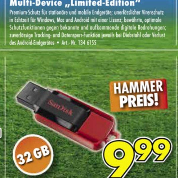 [Euronics] SanDisk Cruzer Switch 32GB USB Stick