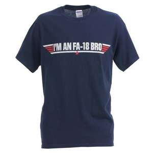 "Charlie Sheen  ""I'm An FA-18 Bro"" T-Shirt für 6.49€ @ play.com"
