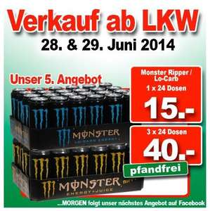 [LOKAL] Monster Energy 24x500ml