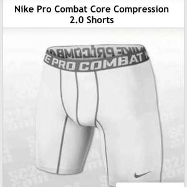 Nike Pro Combat Core Compression 2.0 Shorts - 14€ + Vsk mit 60% Gutschein - sc24.de App - UVP: 34,99