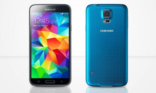 Samsung Galaxy S5 16 GB Electric Blue (mit qipu) für 463,19€ @Groupon