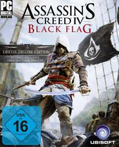 Assassin's Creed 4: Black Flag Digital Deluxe - Amazon - UPlay Code