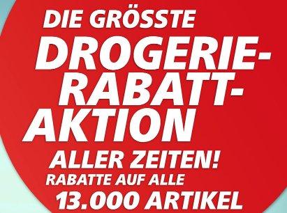 Drogerie-Rabatt-Aktion @real: Bis zu 20% auf Drogerieartikel & 5€ Gutschein ab 50€ Einkauf