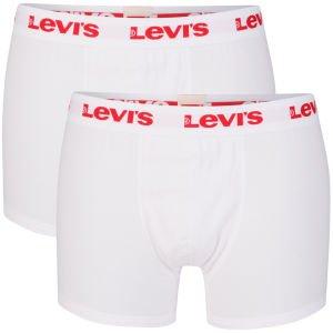 Levi's Men's Ethan 2-Pack Boxers - M und S - White für 10,08 €