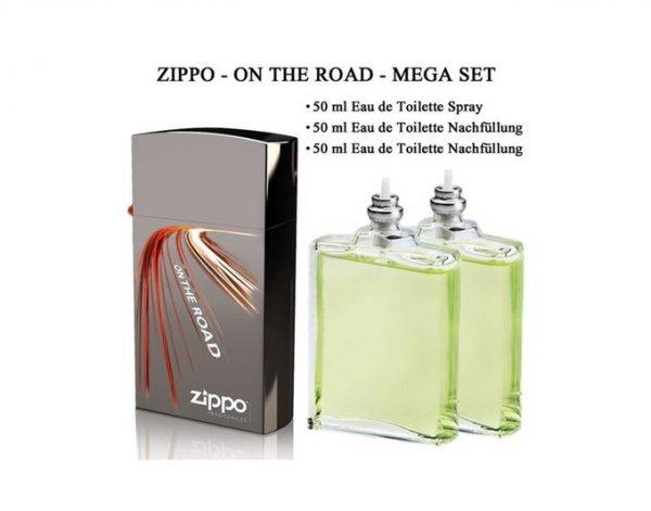 PARFUM - Zippo On The Road - EDT 50 ml + Nachfüllung 2x 50 ml / effektiv 150ml 22,95€ @ MeinPaket