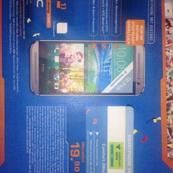 [lokal] HTC One M8 für 510€ inkl. Allnet flat [Saturn Stuttgart]
