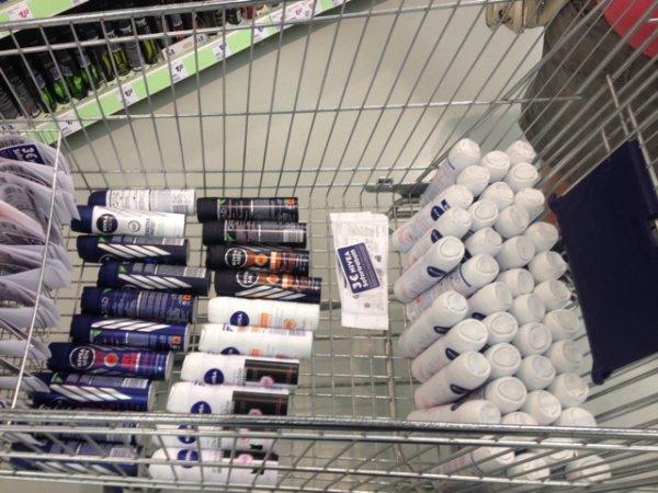 [Real] Nivea Deo Spray- 6 Stück für 0,37€