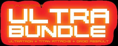 [Steam] Ultrabundle (Droid Assault, Revenge of the Titans, Titan Attacks!, Ultratron)
