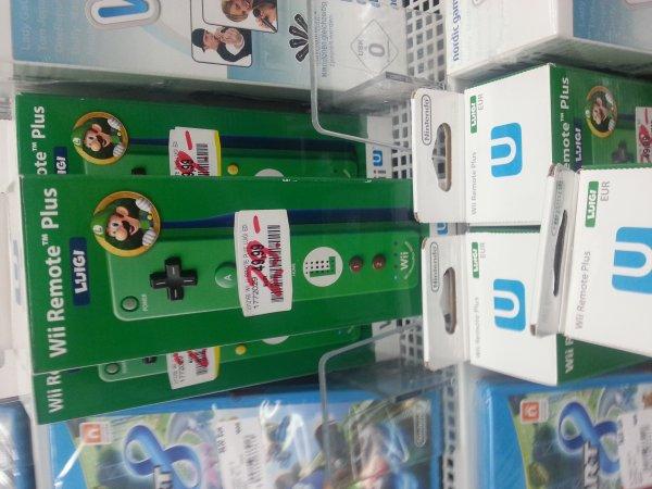 [LOKAL] Wii U Remote+ Fernbedienung Luigi Media Markt Wuppertal