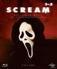 Scream 1-3 Trilogie (Blu-Ray / Ungekürzt) für 18,99 € inkl. Versand