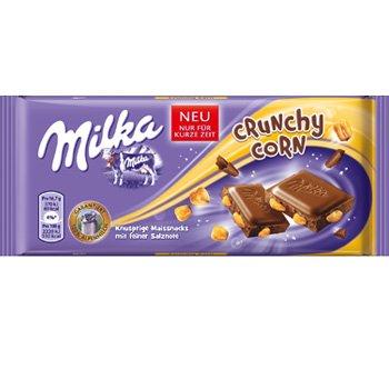 100g Milka Crunchy Corn oder Brezel Time für 0,50€ im Müller RU (ev. bundesweit?)