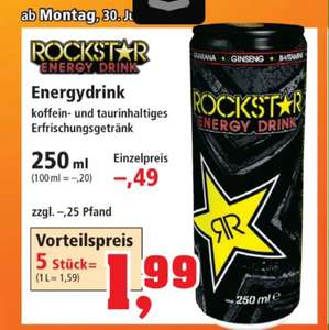 5x Rockstar Energy (250ml)  1,99€ zzgl. Pfand ab 30.6 @ Thomas Philipps