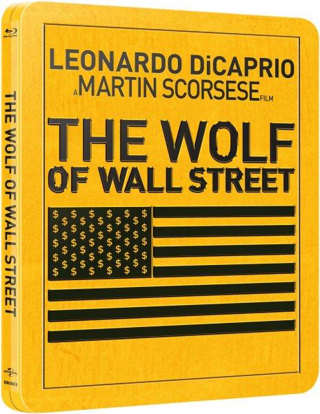 [Media-dealer.de] The Wolf of Wall Street Steelbook [Blu-ray] für 18,98€