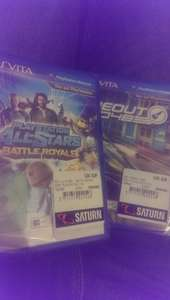 [Lokal Senden] Playstation Vita Games im Saturn für je 3€. U.a. Playstation Allstar Battle Royal, Wipeout, Resistance und ein paar mehr...