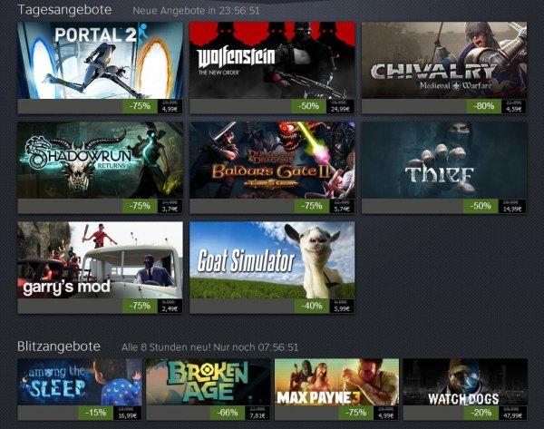 Steam Summer Sale Tag 10 + Blitzangebote + Deals vom 9. Tag