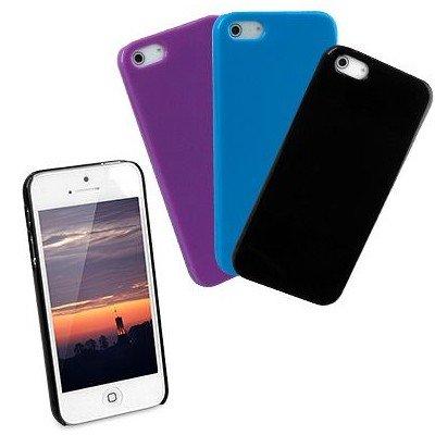 iPhone5 / 5s Back Cover '3er-Set', schwarz, blau, lila für nur 0,32€/stück inkl. VSK